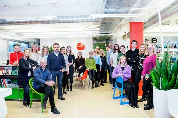 Bilde av ansatte i Fasett - desember 2019