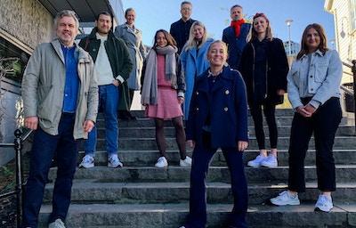 Bilde av ansatte i Fasett og Stavanger Aftenblad