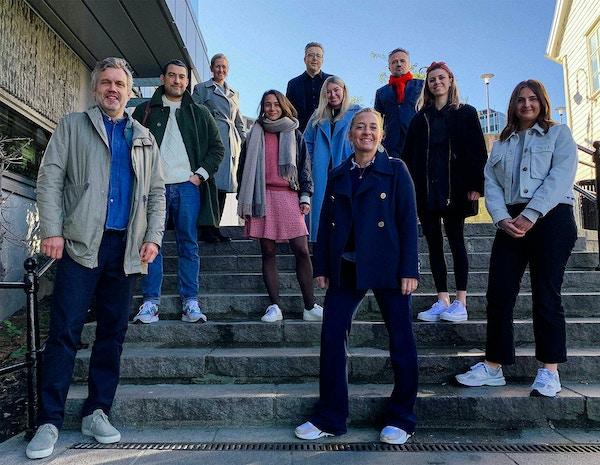 Bilde av ansatte hos Fasett og Stavanger Aftenblad
