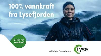 Lyse Vannkraft annonse