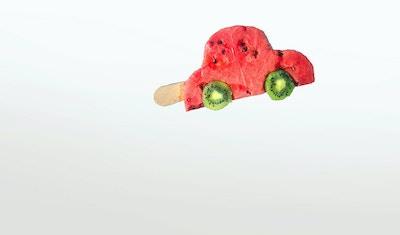 Bilde av melon-is - Hjemmeladet kampanje for Lyse