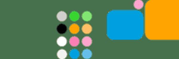 Colour palette - Collabor8