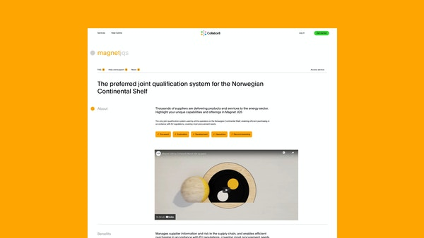 Image of product page for Magnet JQS
